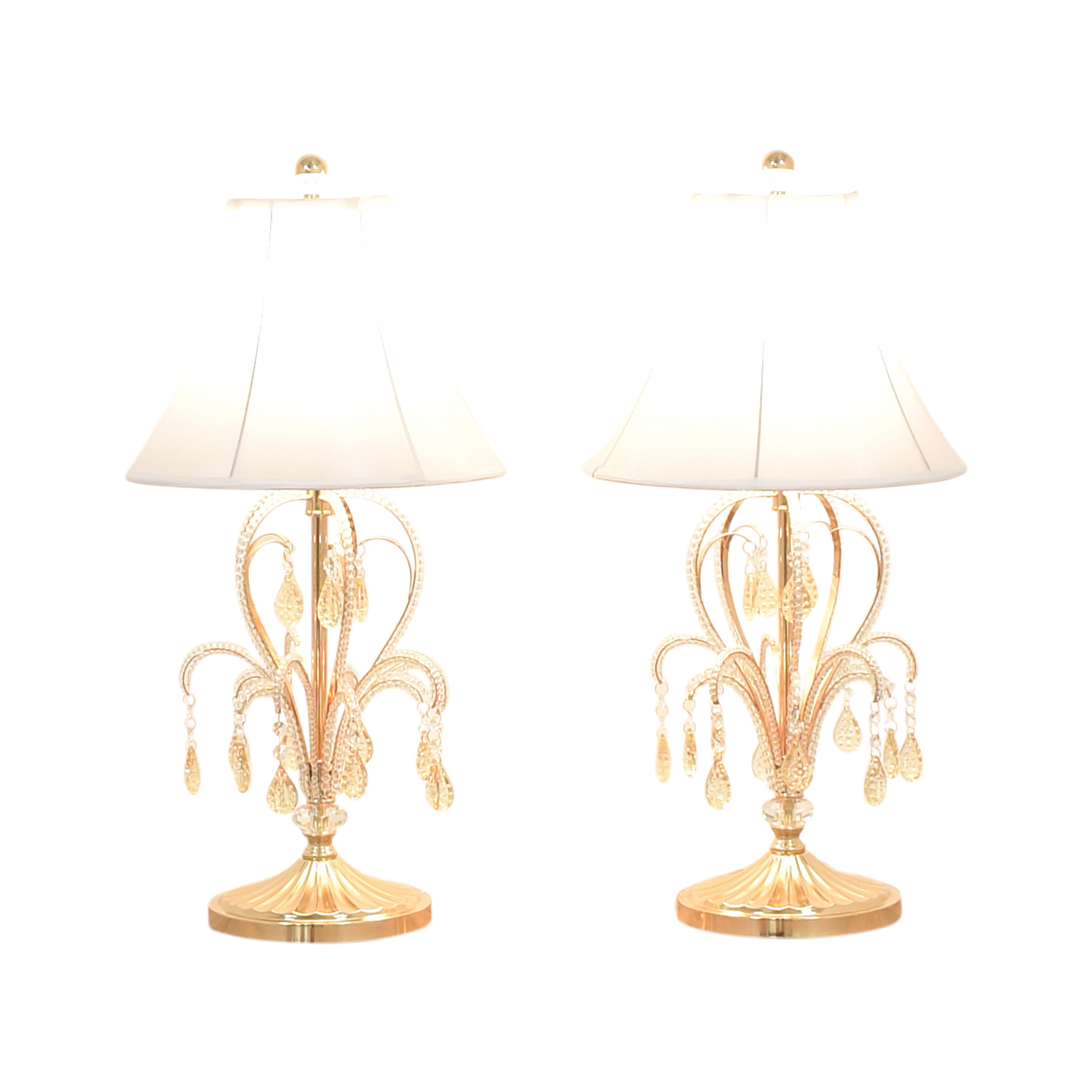73 Off Chandelier Style Table Lamps Decor