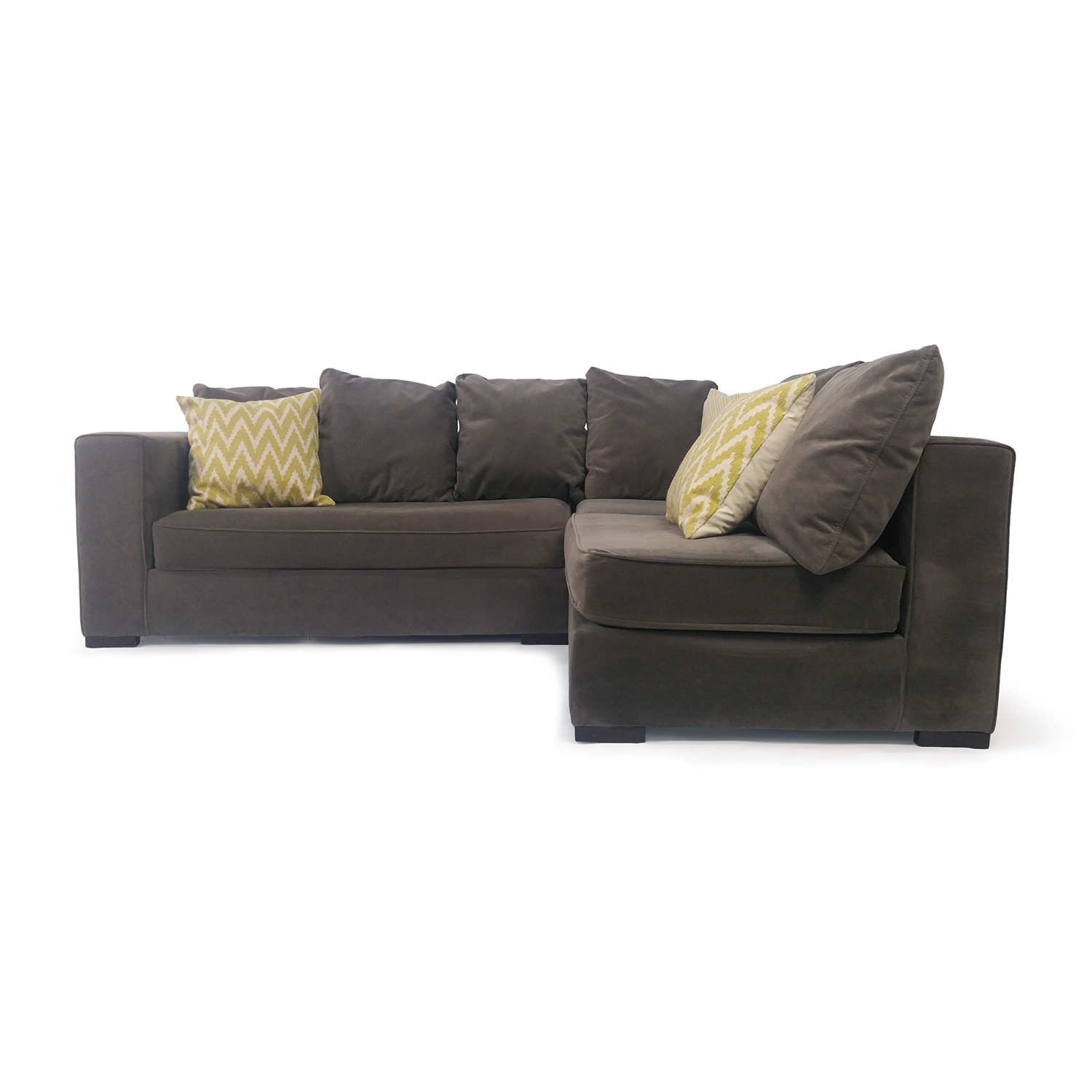 West Elm West Elm Modular Gray Sectional on sale  sc 1 st  Furnishare : used sectionals - Sectionals, Sofas & Couches