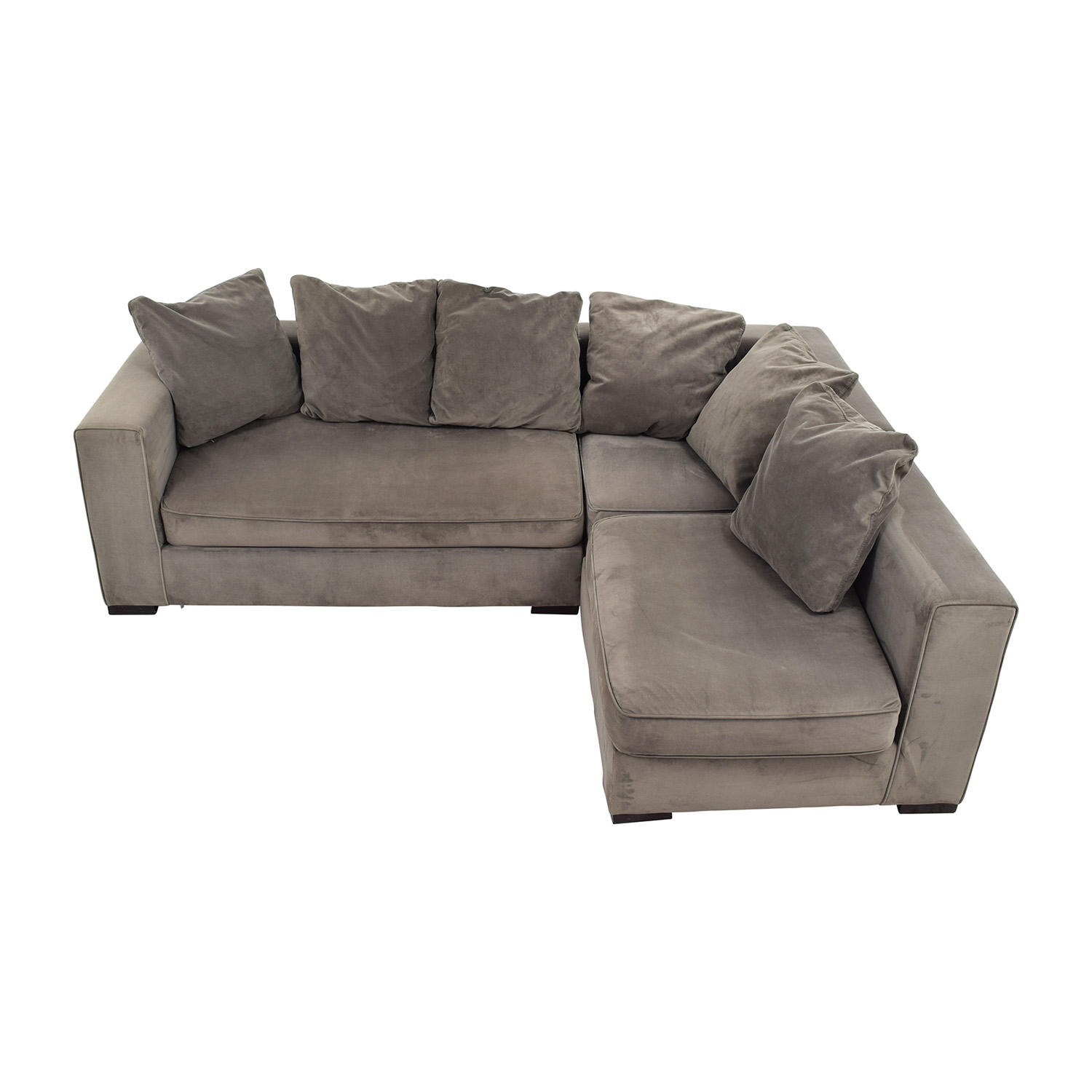 West Elm Modular Gray Sectional / Sofas