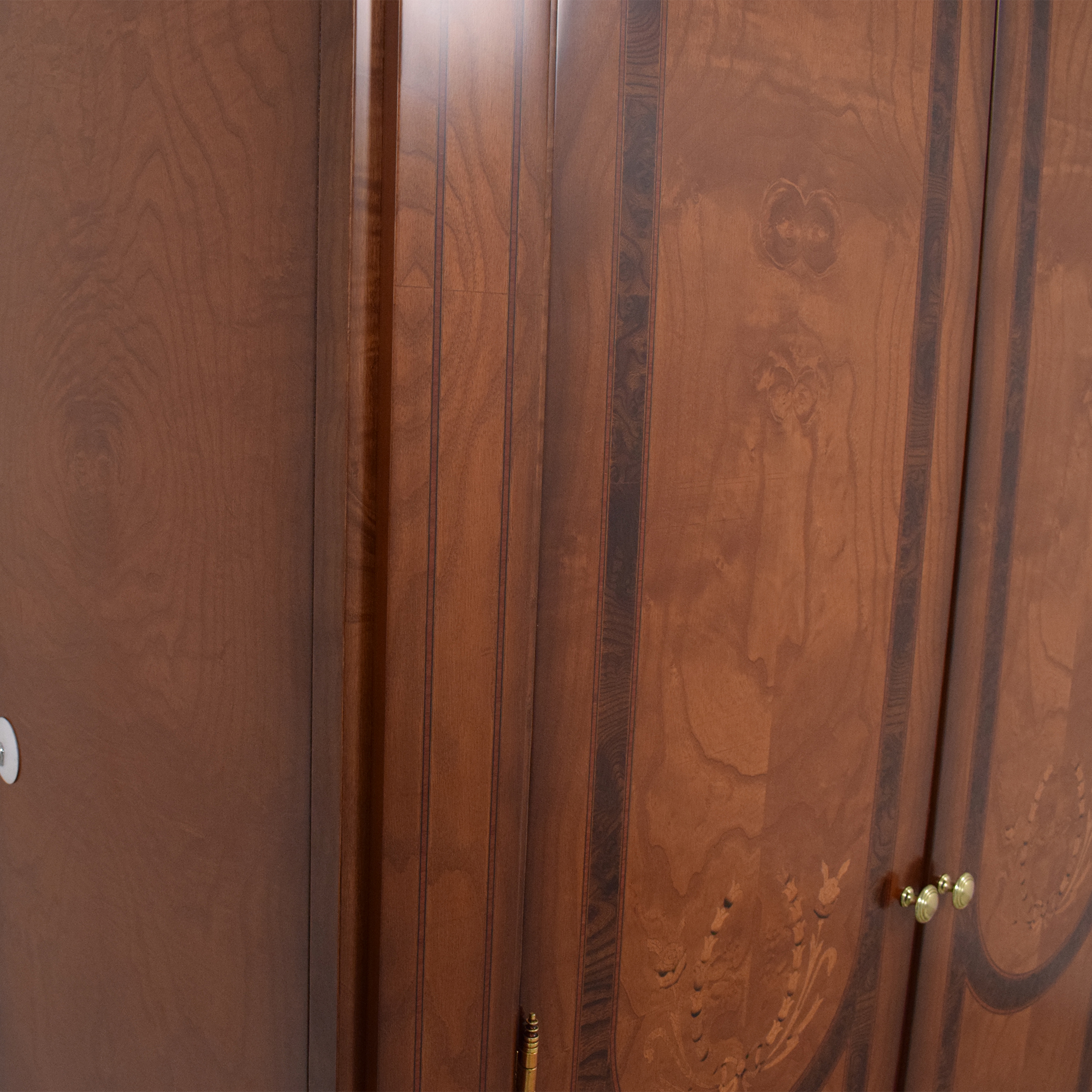 shop  Two Door Armoire with Carved Detail online