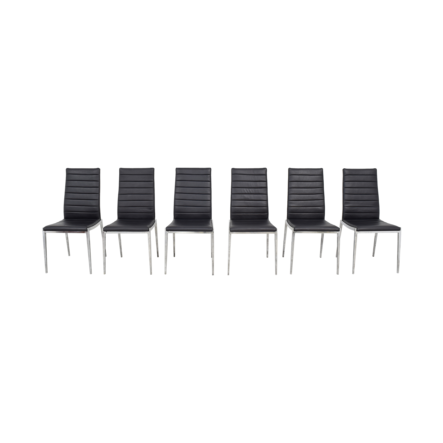 Modern High Back Dining Chairs