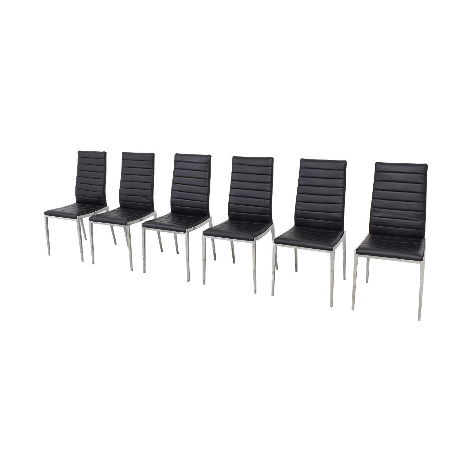 Modern High Back Dining Chairs discount