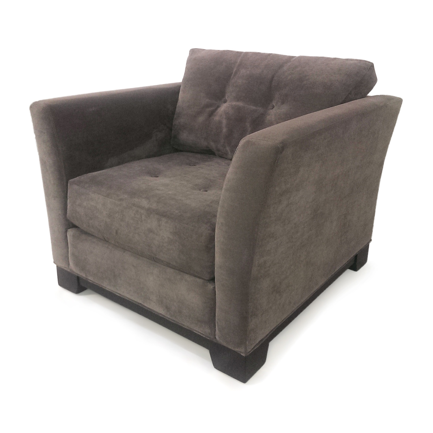 Off macy s grey tufted arm chair chairs
