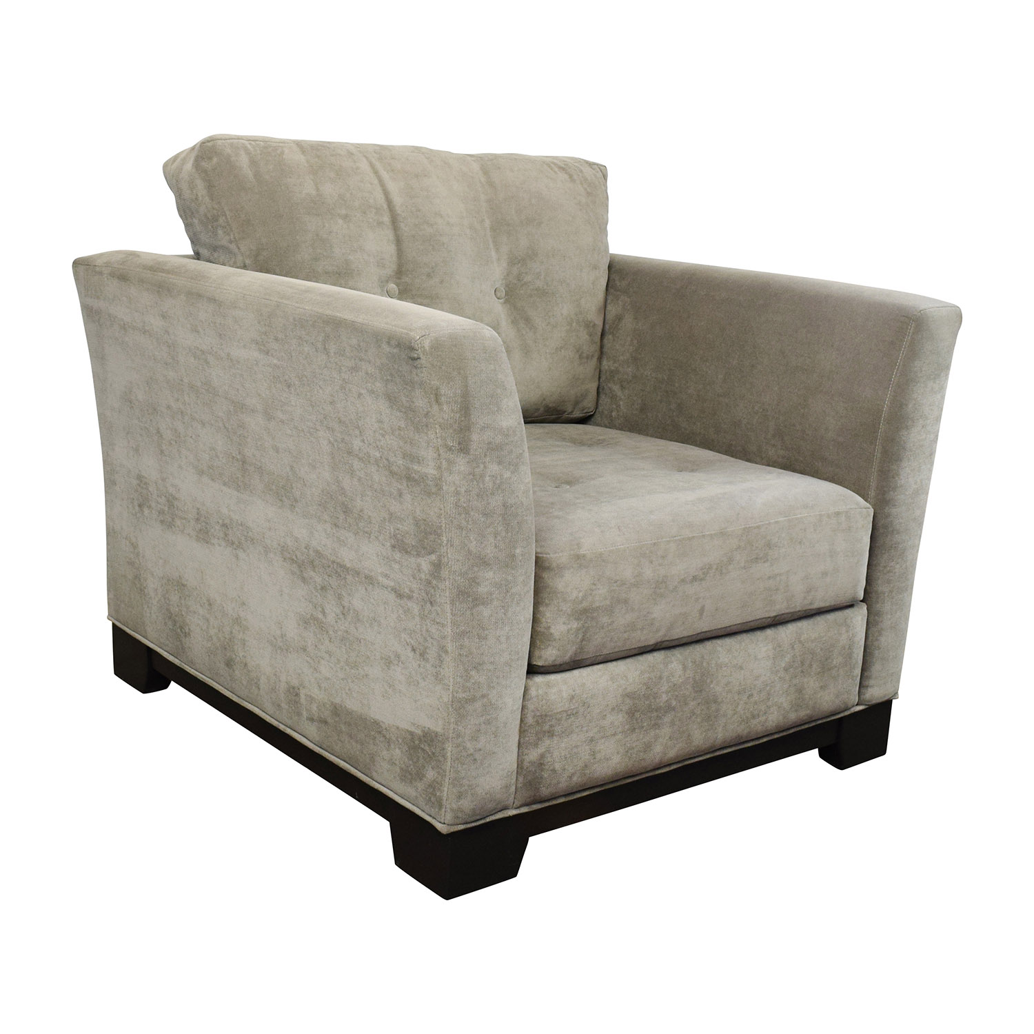 Macys Furniture Department: Macy's Macy's Grey Tufted Arm Chair / Chairs