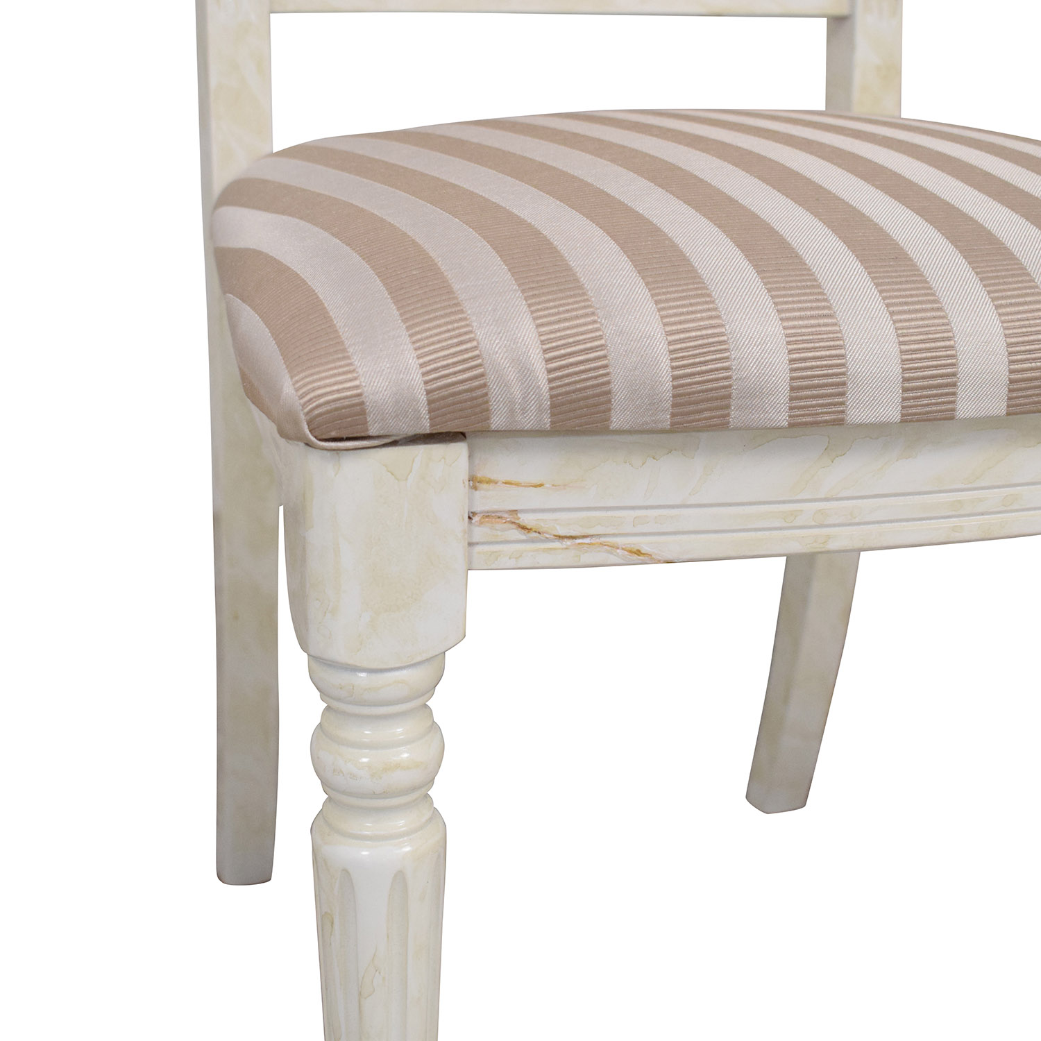 Arredoclassic Arredoclassic Italy Dining Chairs tan & beige