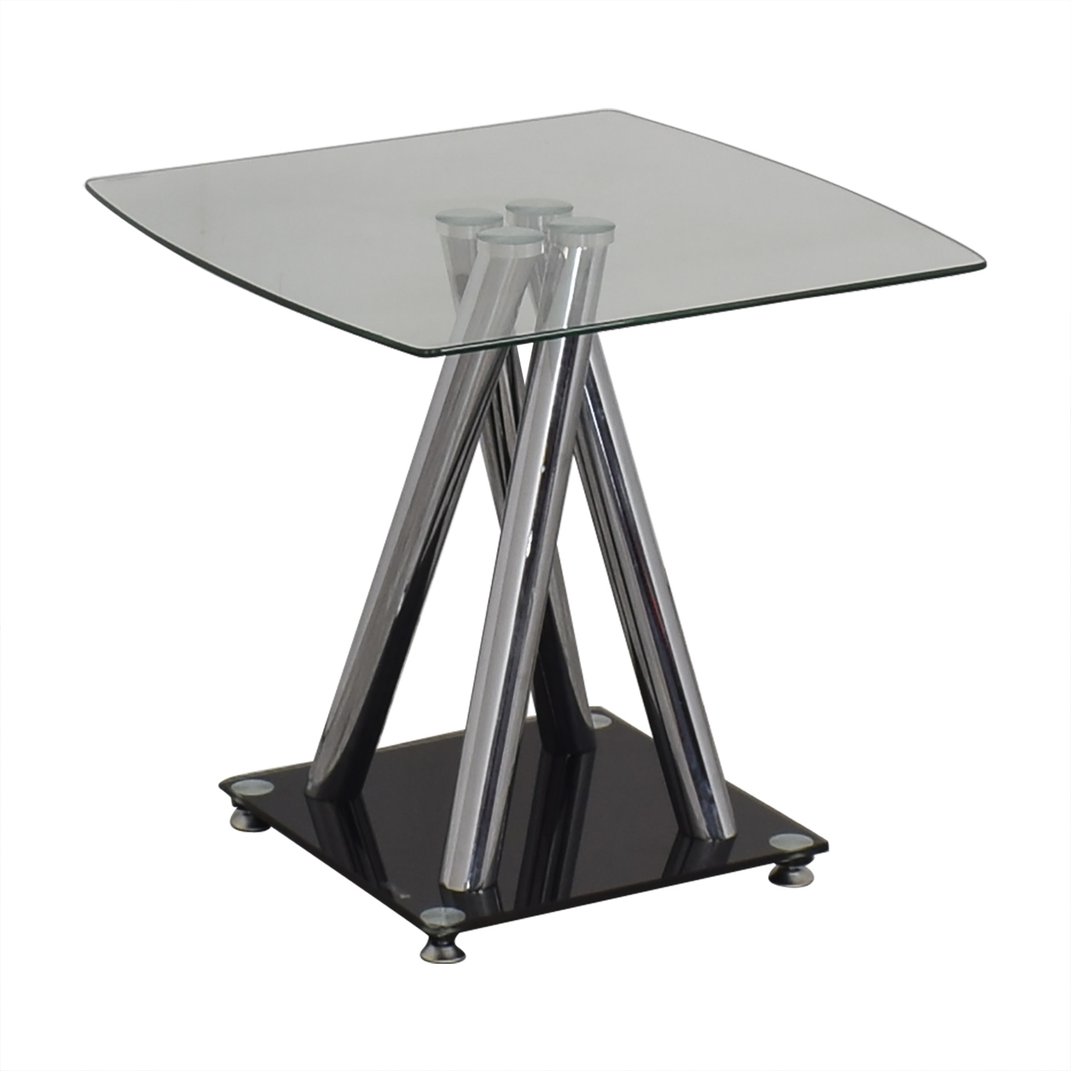buy Modern Glass Side Table  End Tables