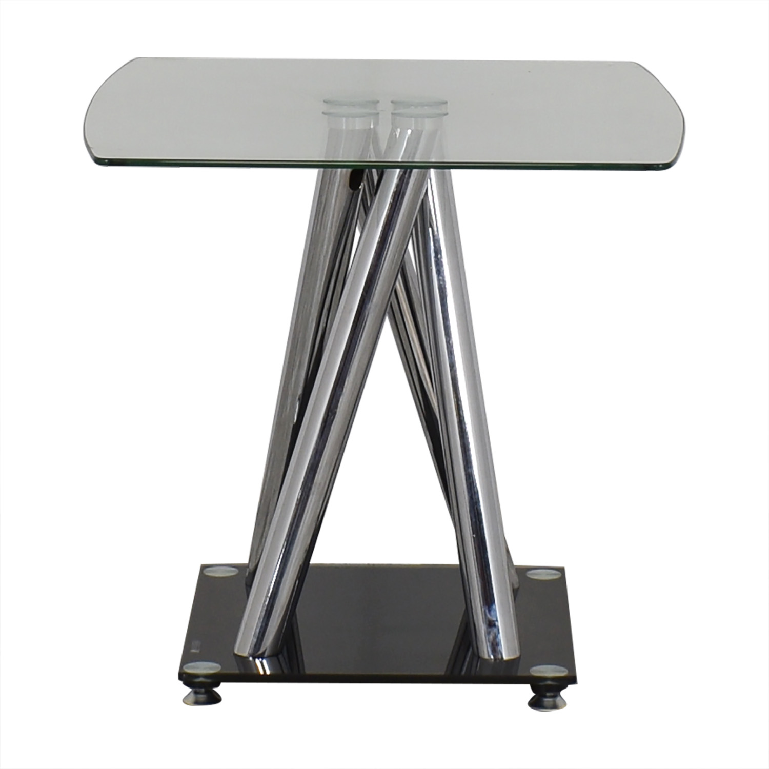 shop Modern Glass Side Table  End Tables
