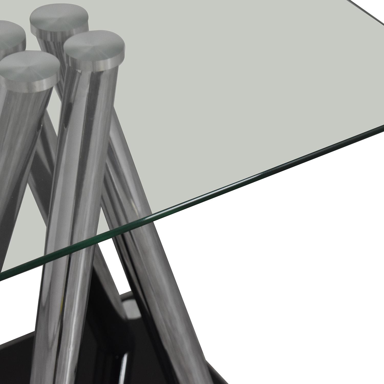 Modern Glass Side Table ma
