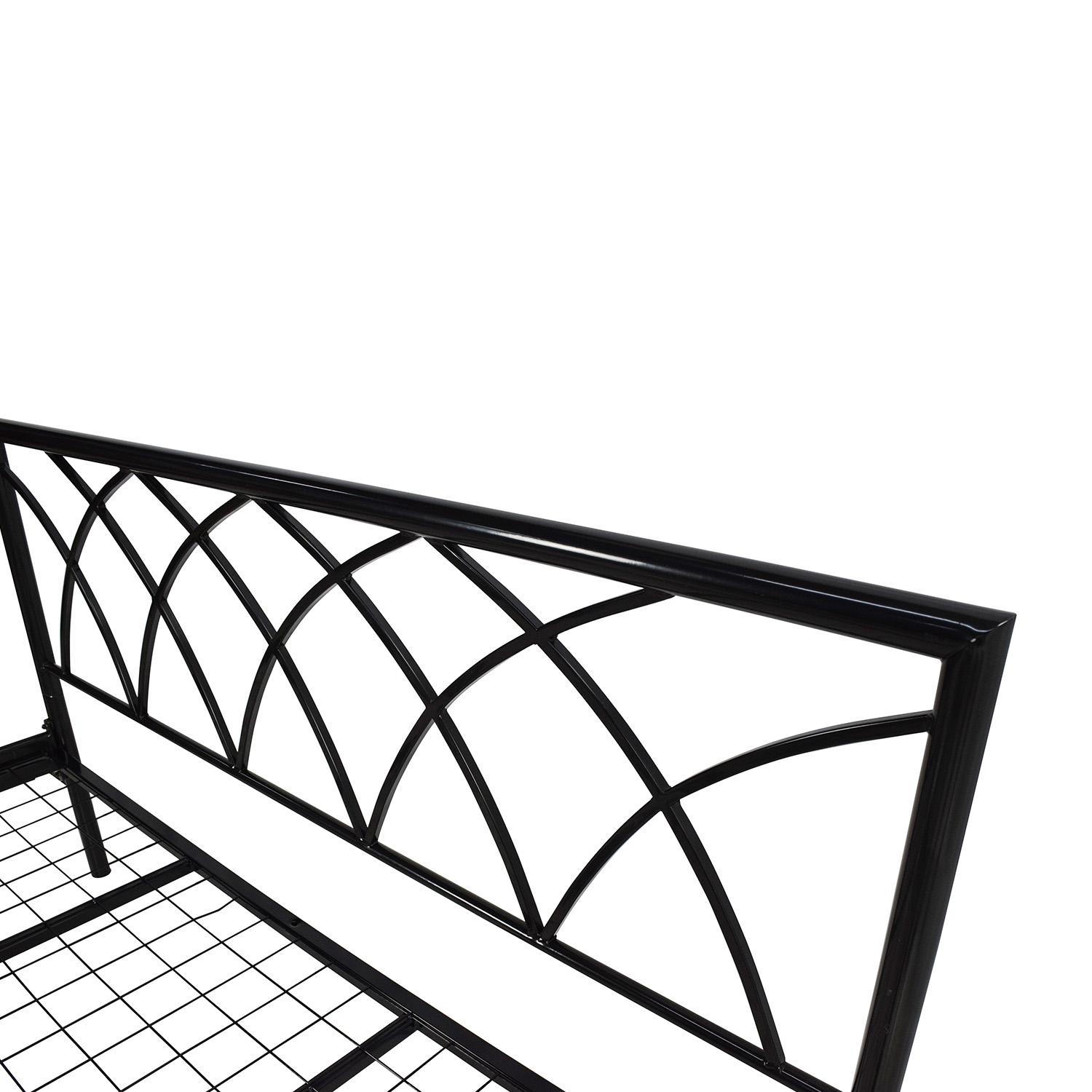 Overstock Queen Size Metal Bed Frame for sale