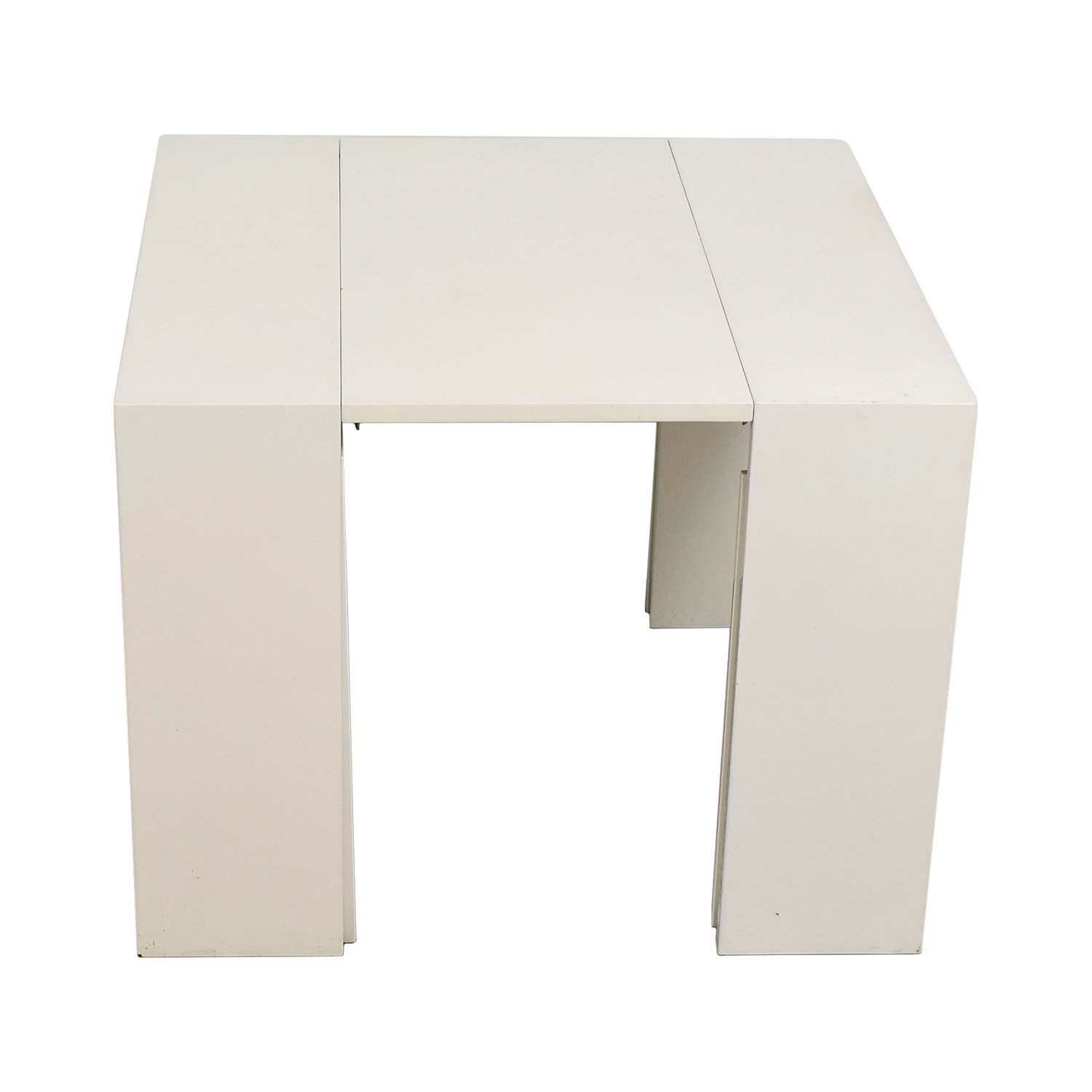 Modani Extendable White and Creme Table / Tables