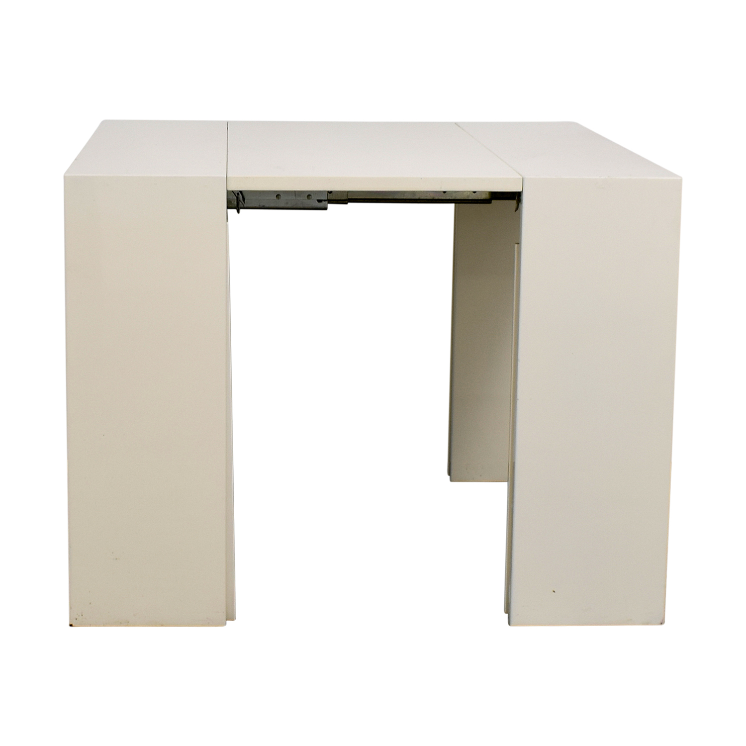 Modani Modani Extendable White and Creme Table dimensions