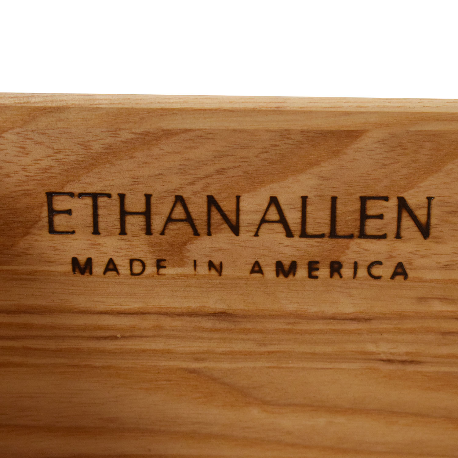Ethan Allen Ethan Allen Bowed Front Three Drawer Dresser for sale