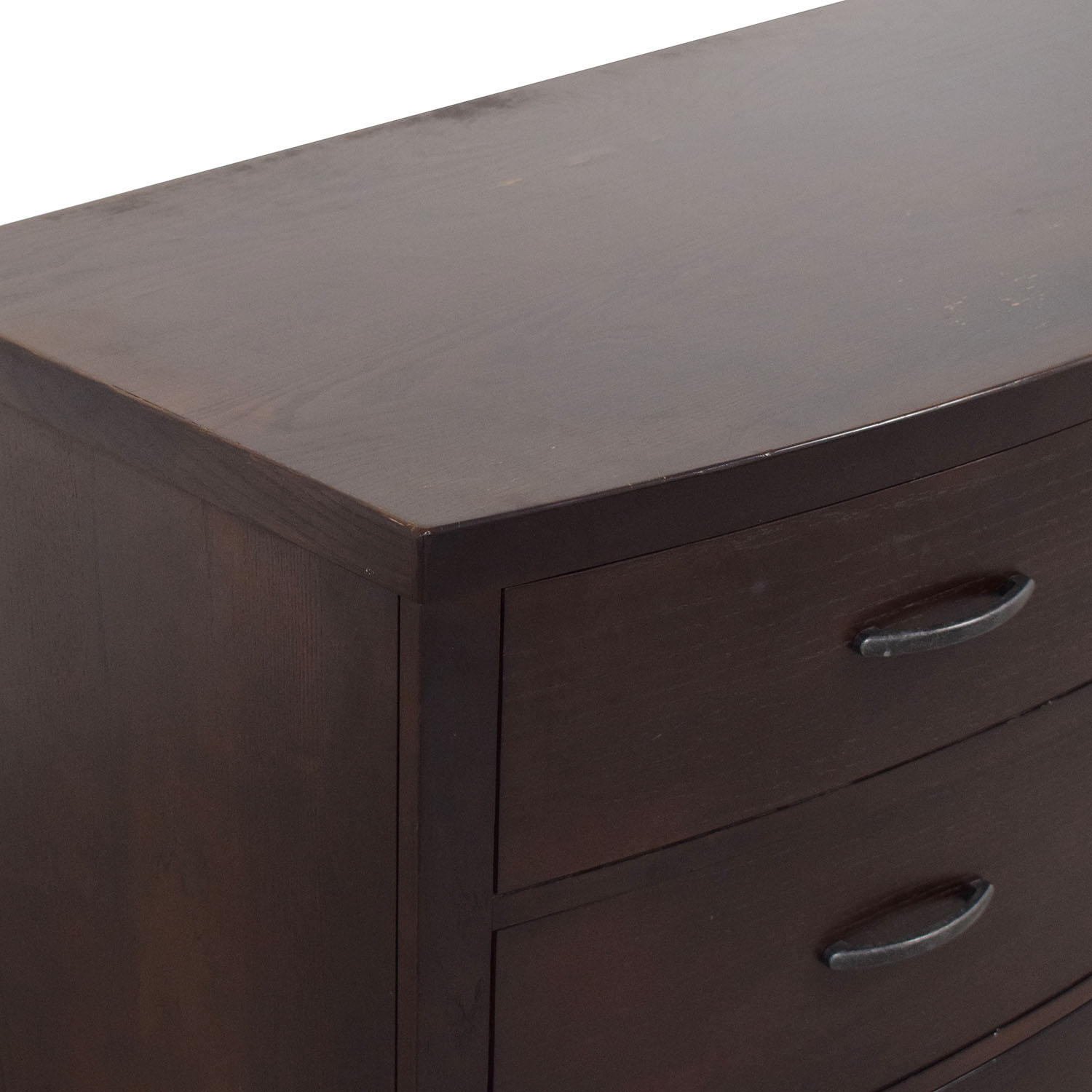 Ethan Allen Ethan Allen Bowed Front Three Drawer Dresser on sale