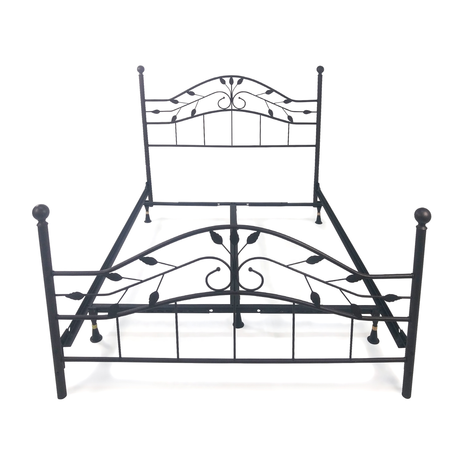 queen metal bed frame second hand - Used Bed Frames