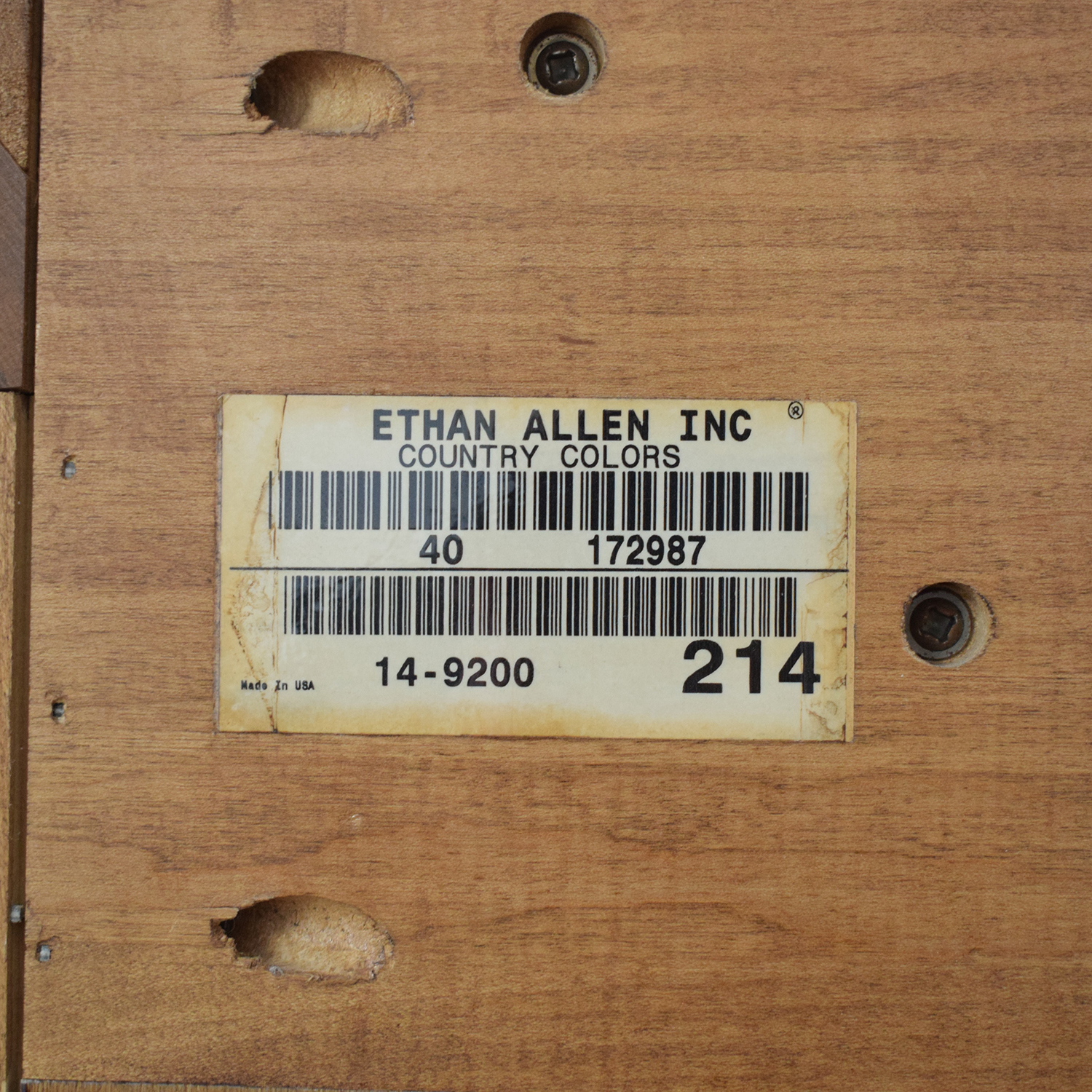 Ethan Allen Ethan Allen Country Colors Media Cabinet Armoire used