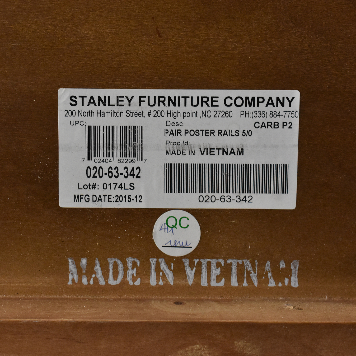 shop Stanley Furniture British Colonial Queen Poster Bed Stanley Furniture Beds