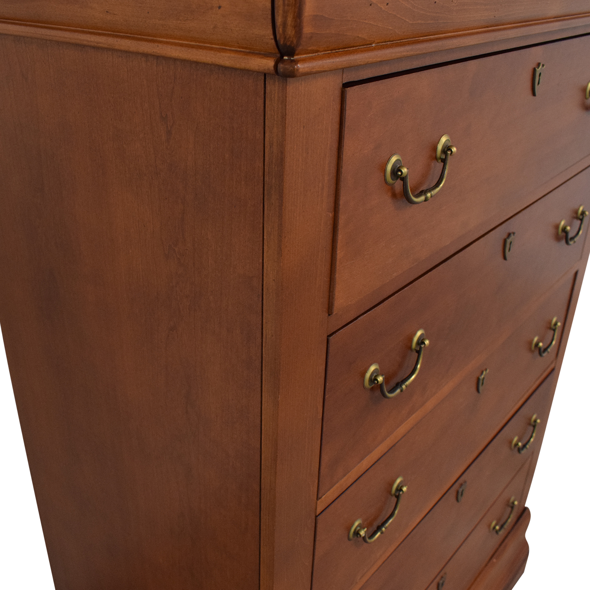 Huffman Koos Huffman Koos Five Drawer Dresser Brown