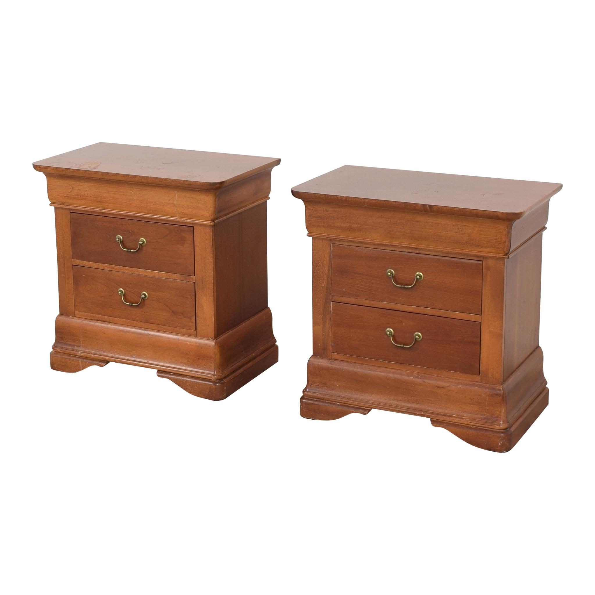 Huffman Koos Three Drawer Nightstands / Tables