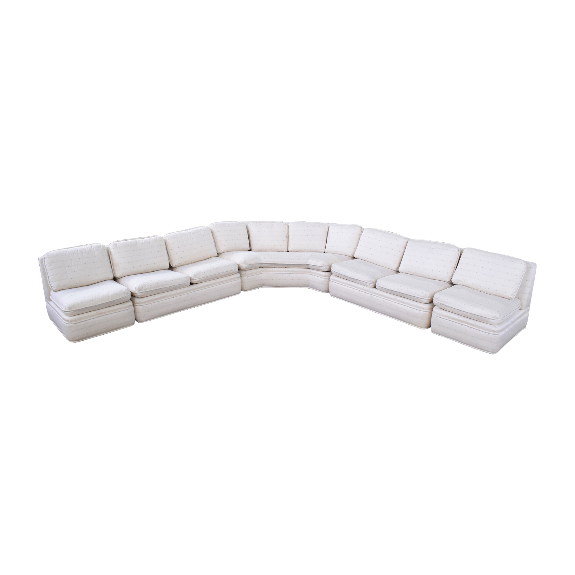 Baker Furniture Baker Fabric Sectional Sofa Sectionals