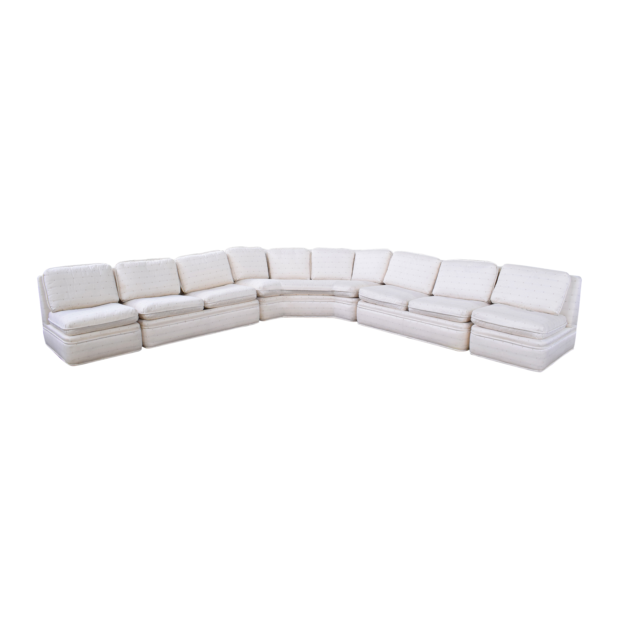 Baker Furniture Baker Fabric Sectional Sofa ma