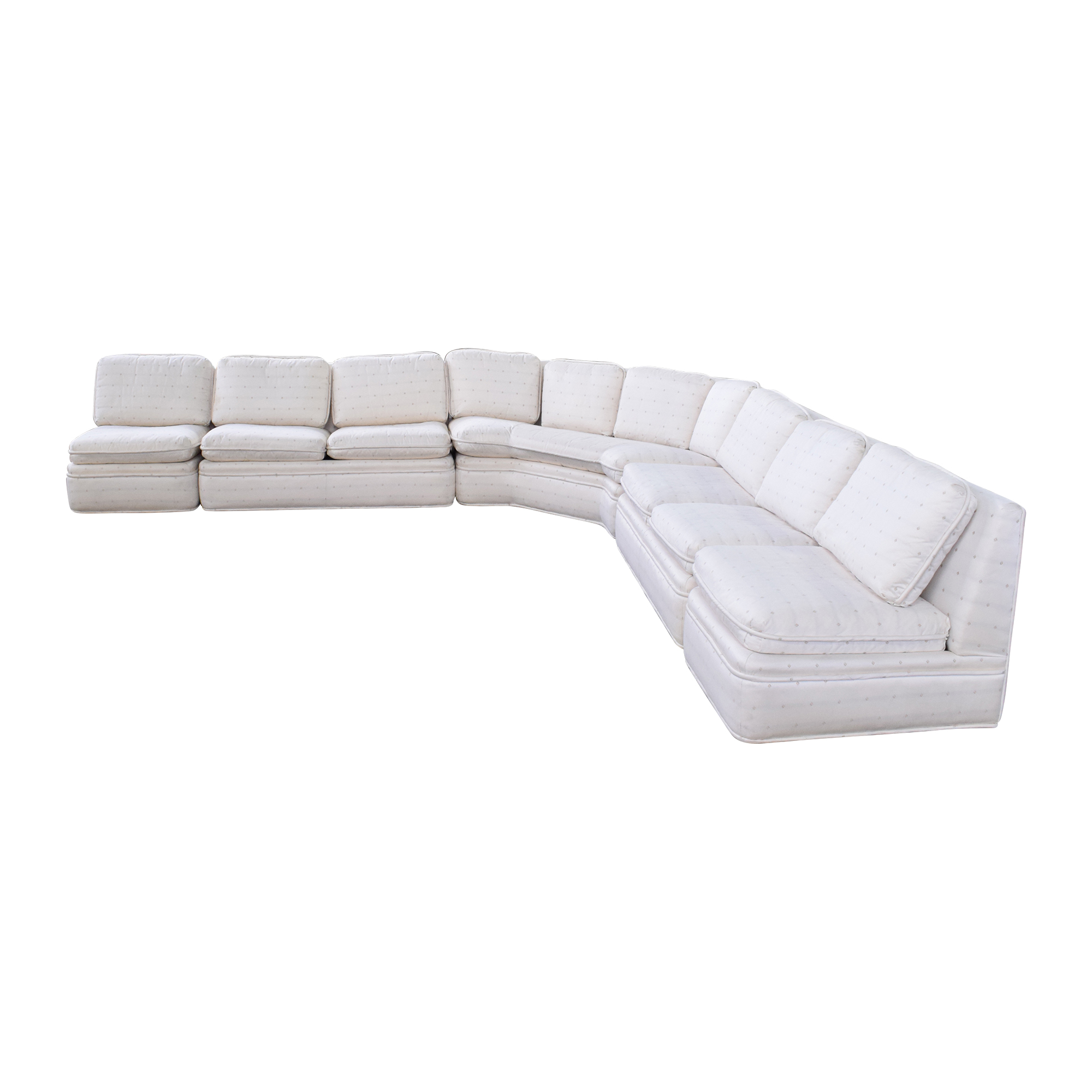 Baker Furniture Baker Fabric Sectional Sofa ct