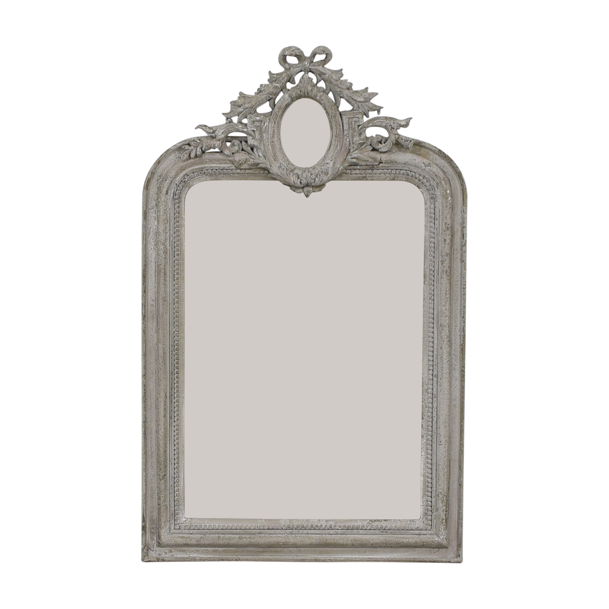 Horchow Carved Vertical Wall Mirror / Mirrors