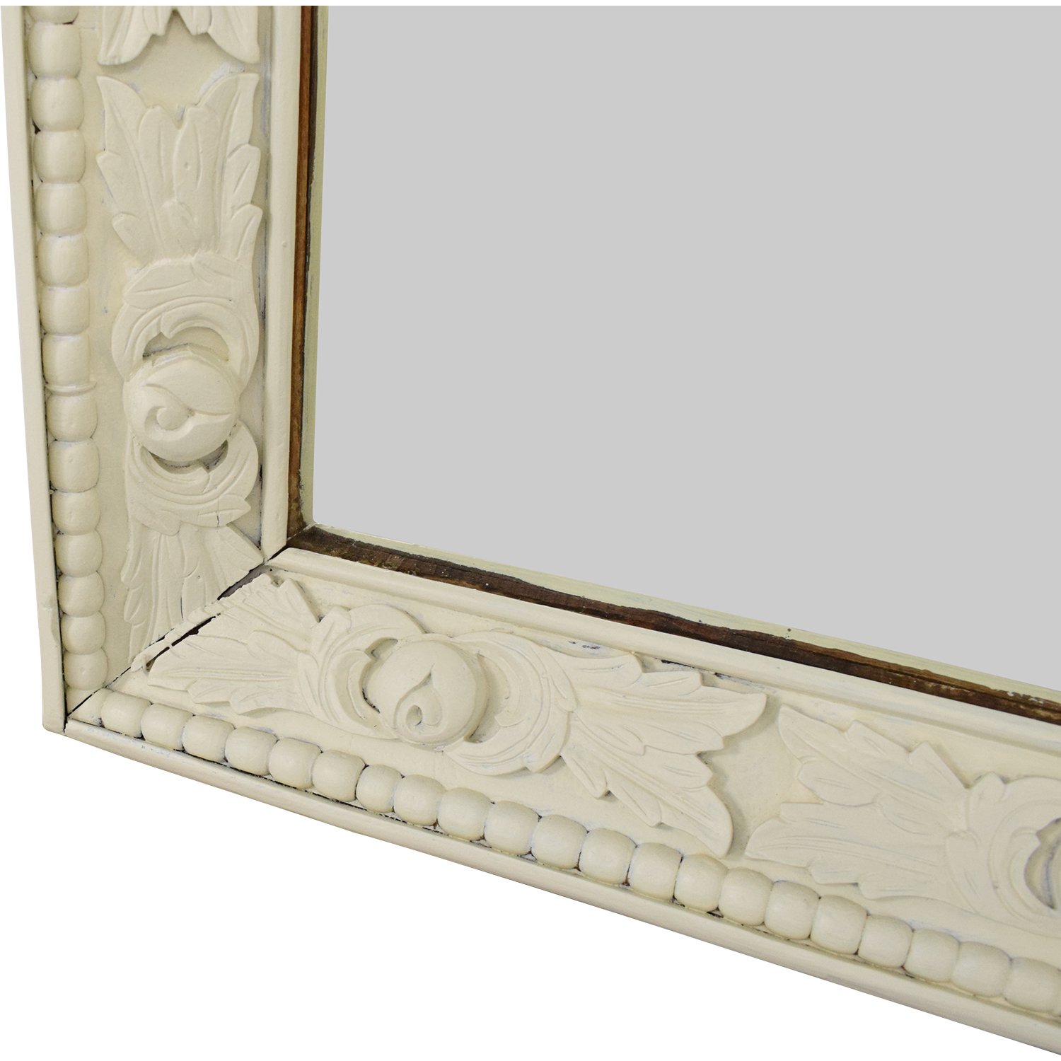 Vintage Mirror with Carved Frame coupon