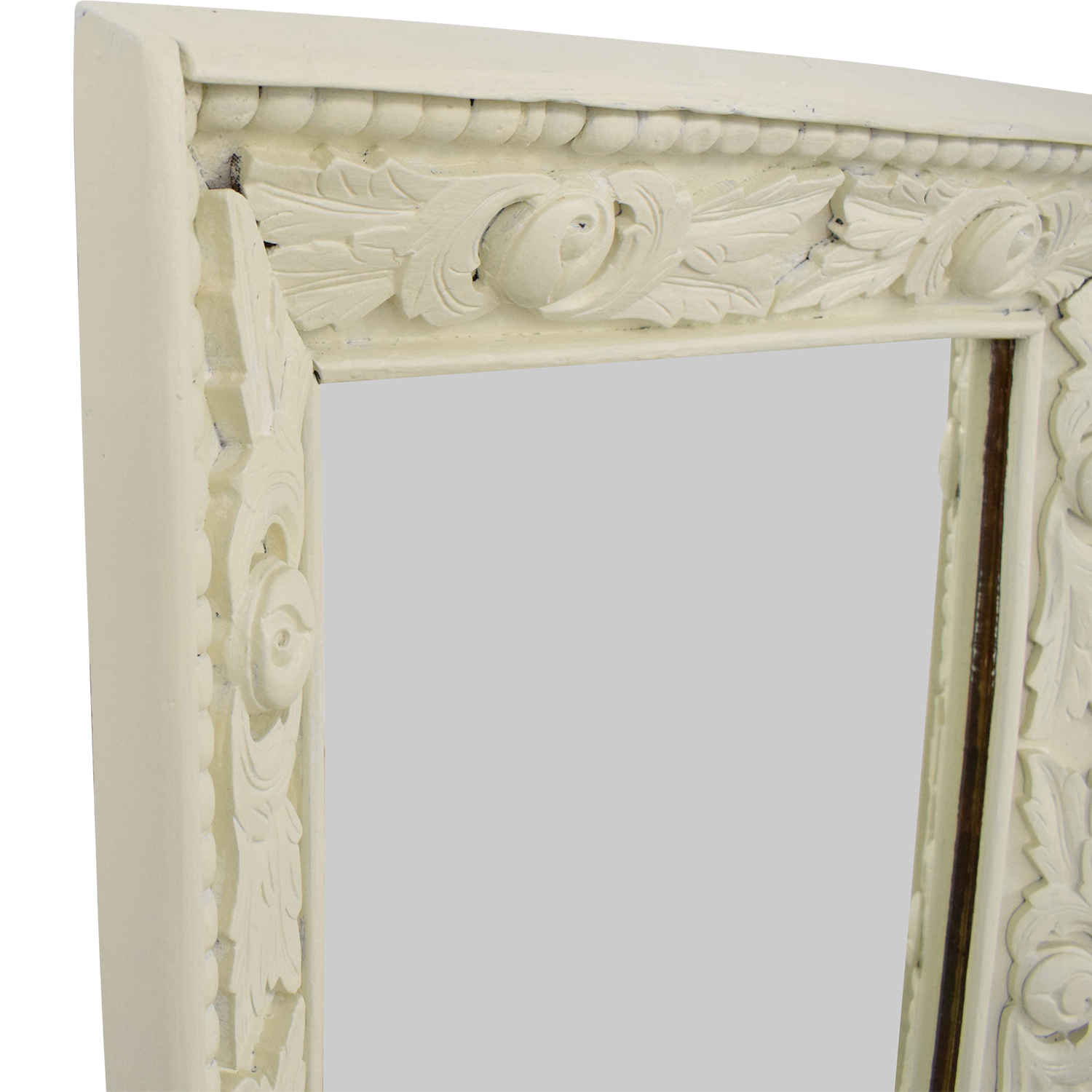 shop Vintage Mirror with Carved Frame  Mirrors