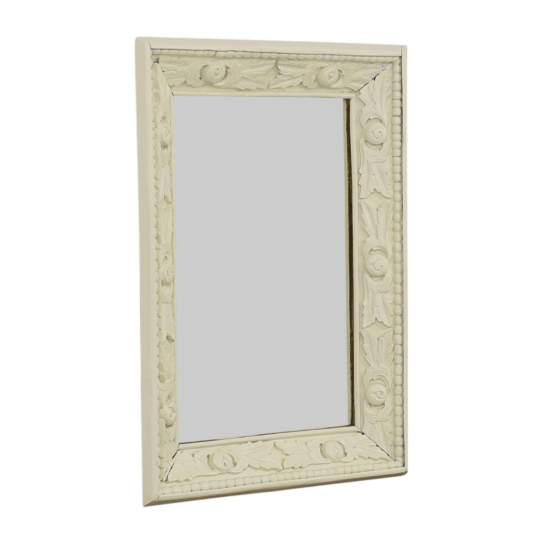 shop Vintage Mirror with Carved Frame  Decor
