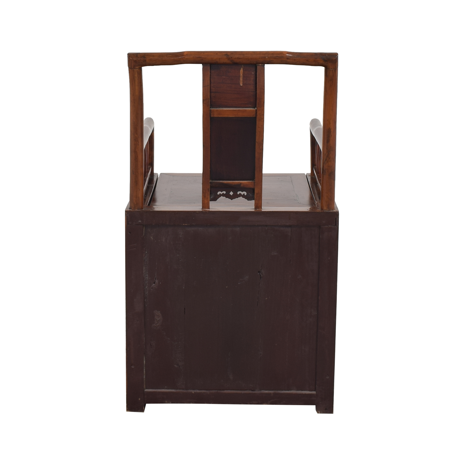 buy  Antique Asian Wooden Storage Chair online