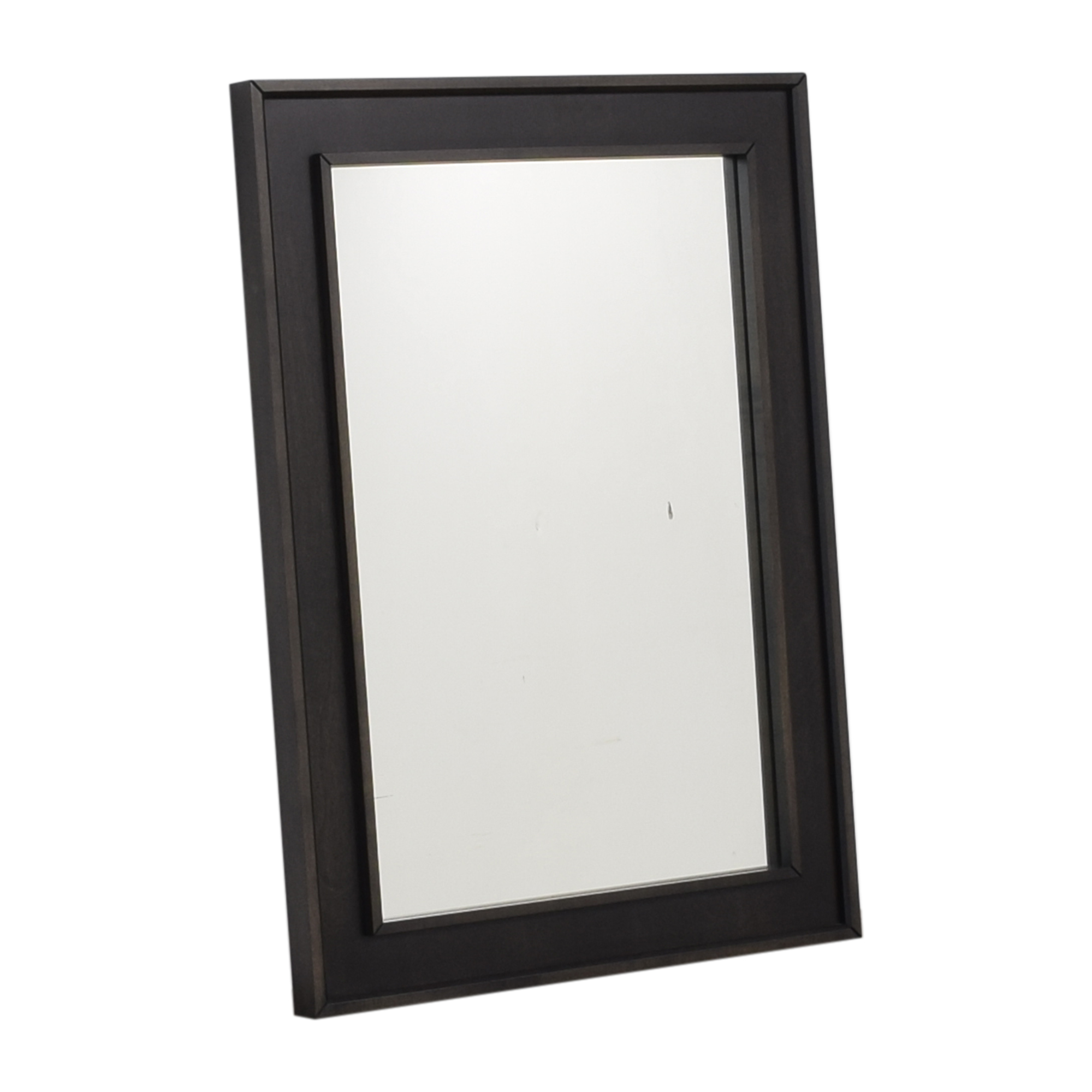 shop Crate & Barrel Framed Wall Mirror Crate & Barrel Decor