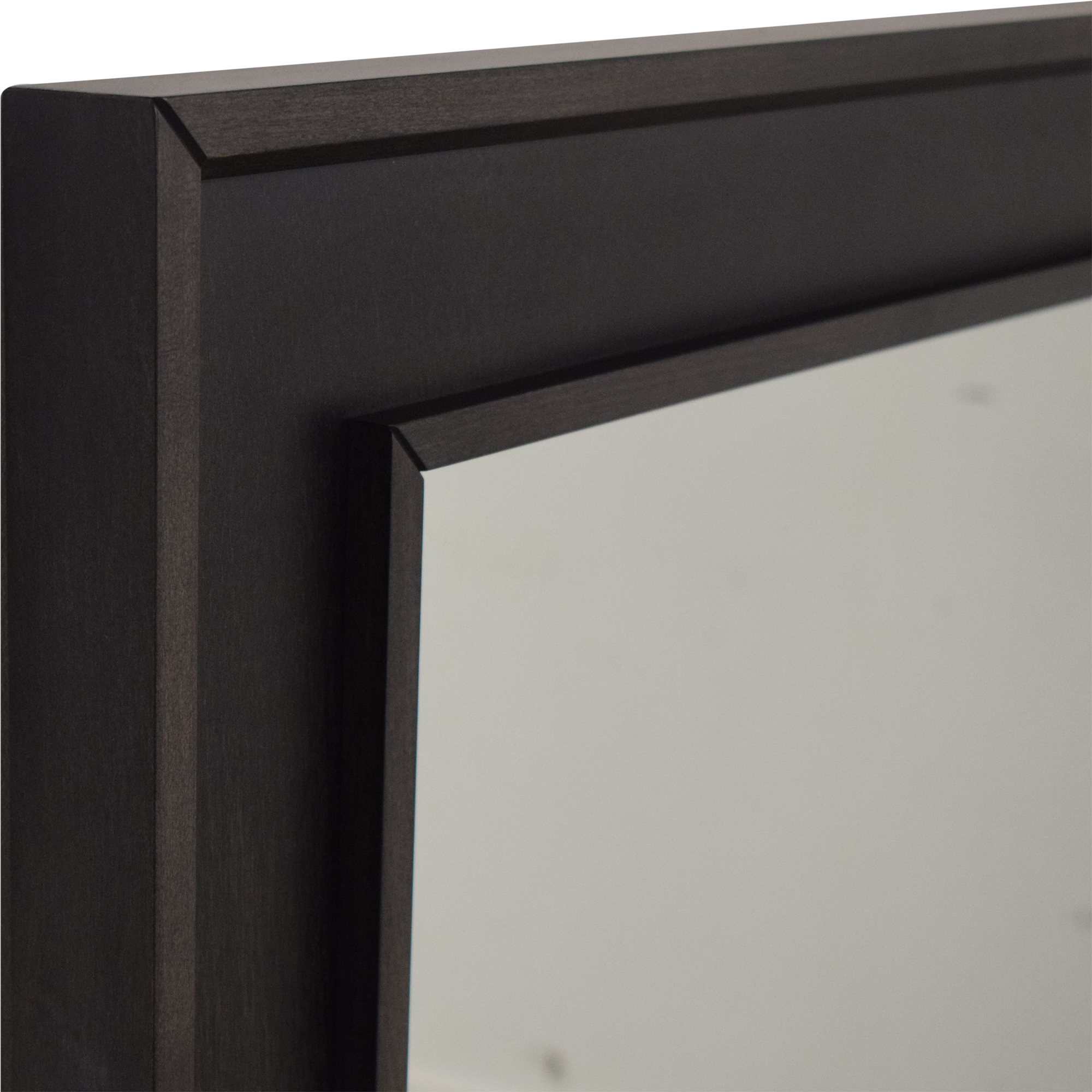 Crate & Barrel Framed Wall Mirror Crate & Barrel