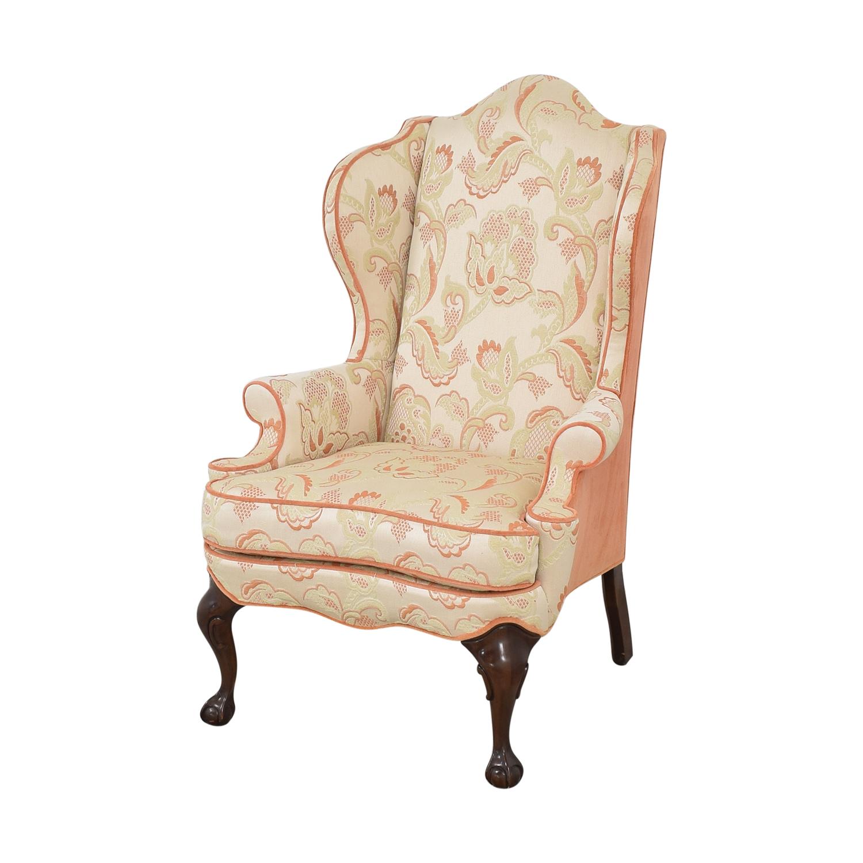 Macy's Macy's Upholstered Wingback Chair ma