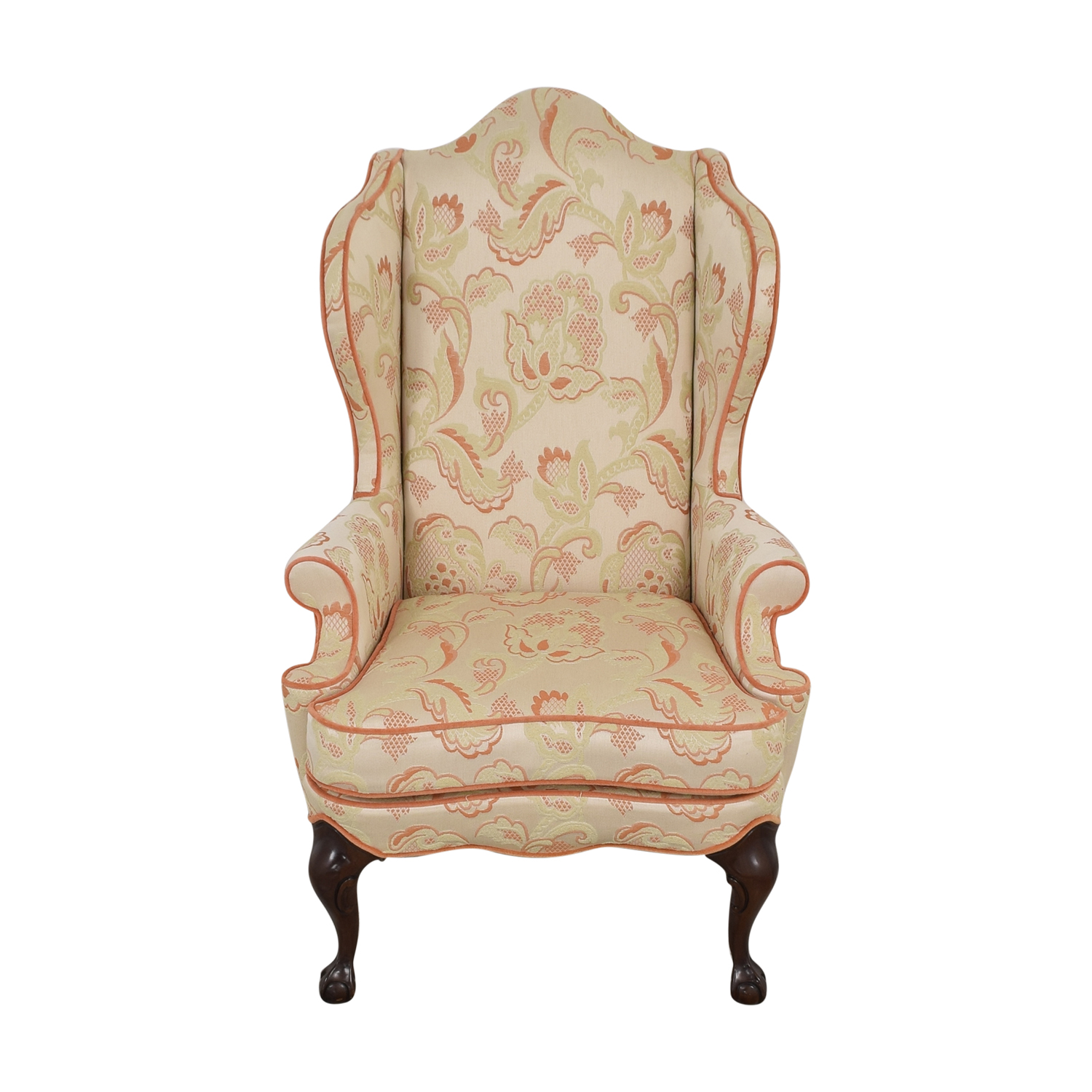 shop Macy's Upholstered Wingback Chair Macy's Chairs