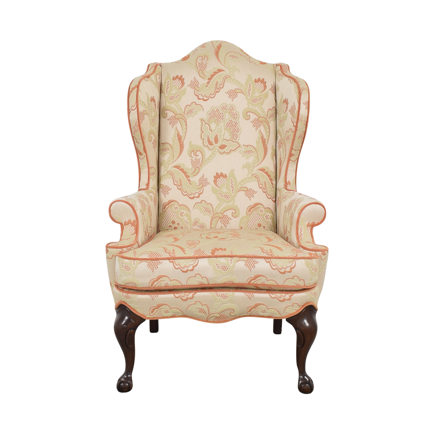 shop Macy's Upholstered Wingback Chair Macy's