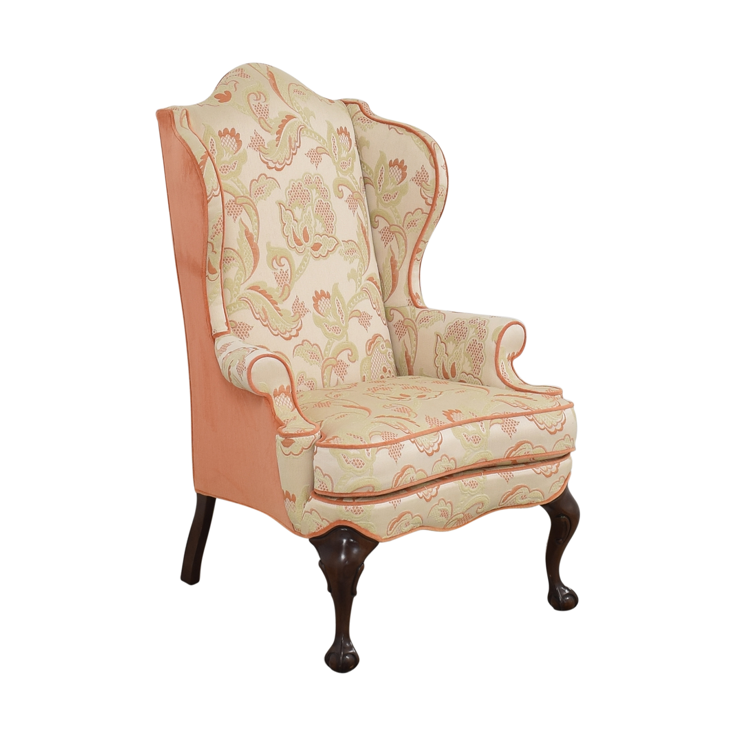 Macy's Macy's Upholstered Wingback Chair ct