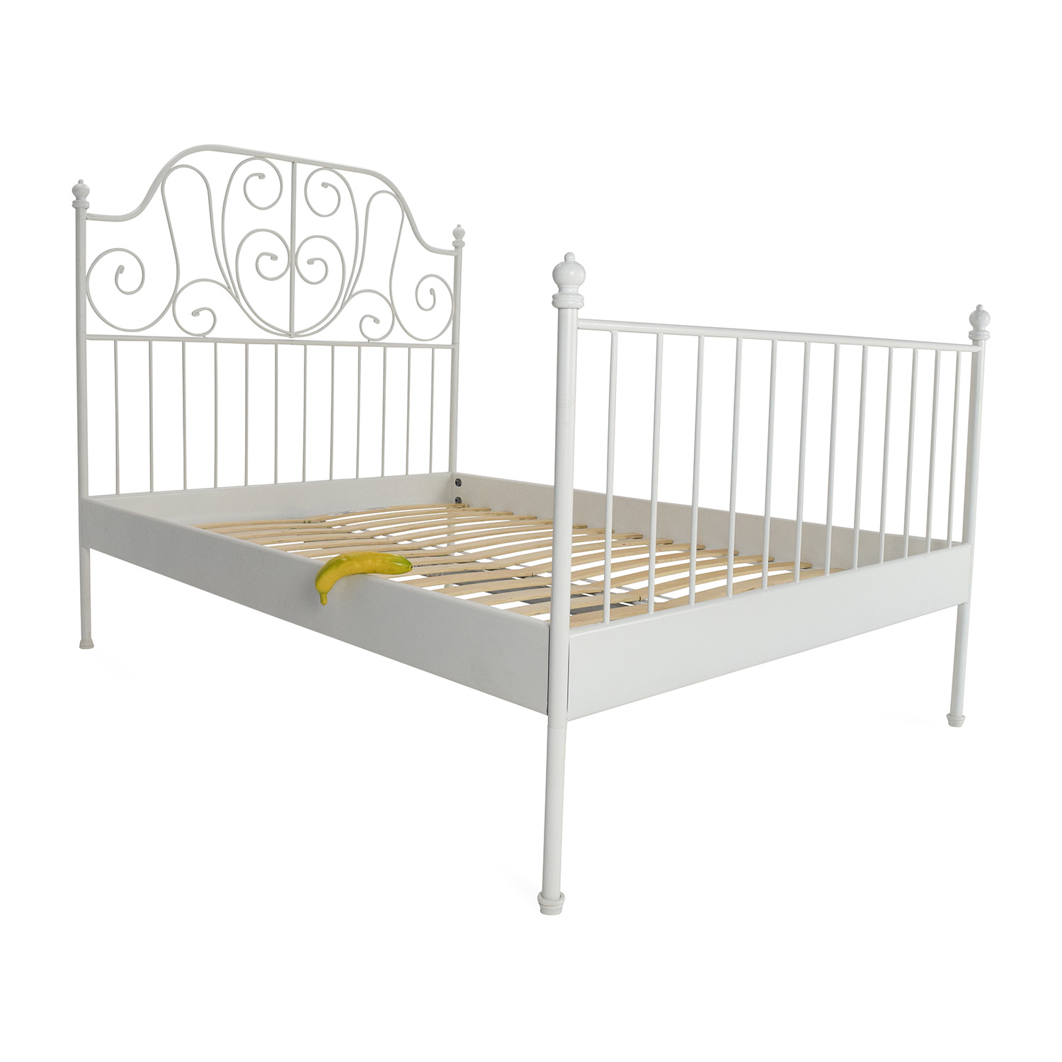 Fjellse bed frame fulldouble ikea ikea ikea full size for Full size bed frame