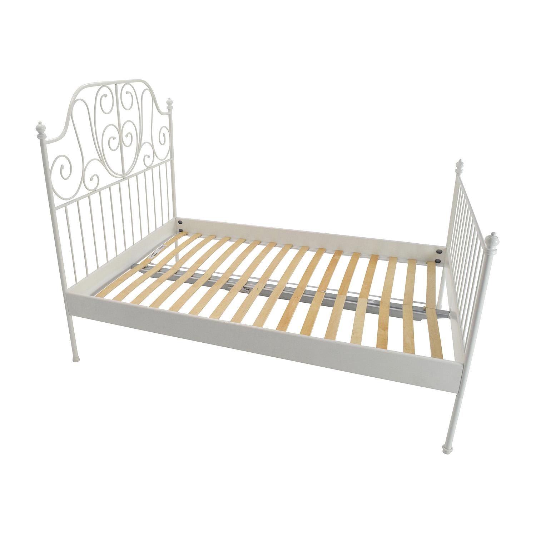 Bed frames full size bed frame full size platform and for Full size bed frame