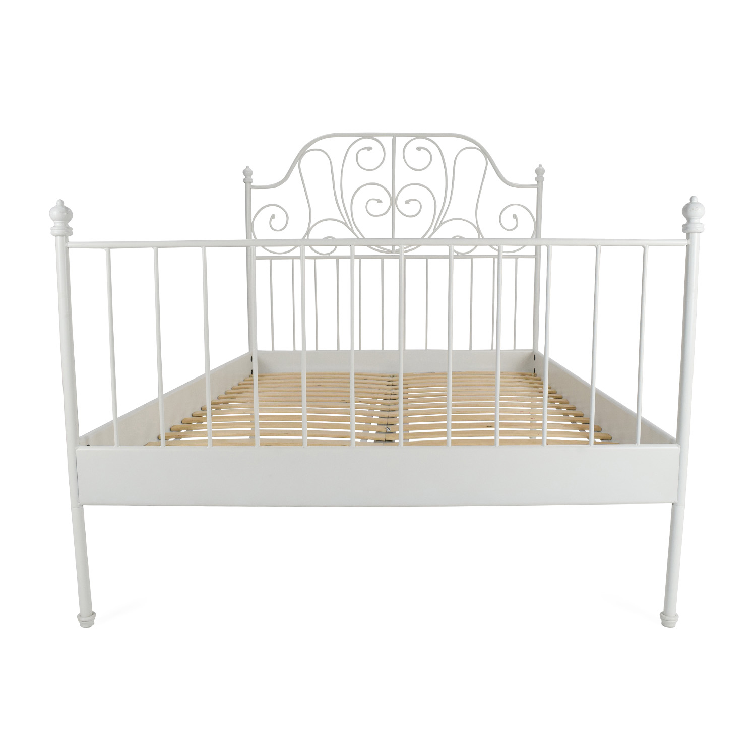 Single bed second hand for Full size bed ikea