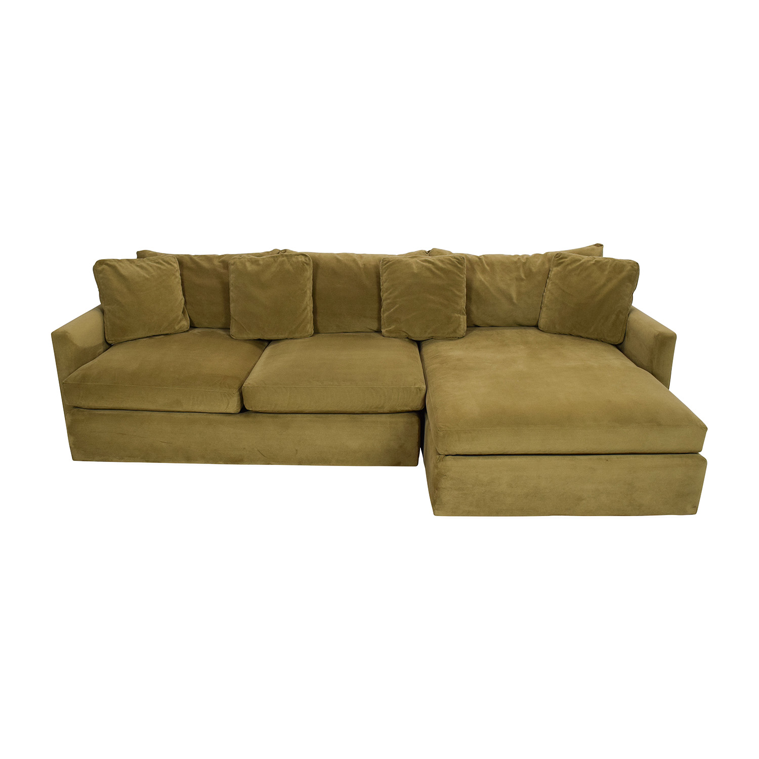 buy Crate and Barrel Lounge II Sectional Sofa Crate and Barrel Sofas