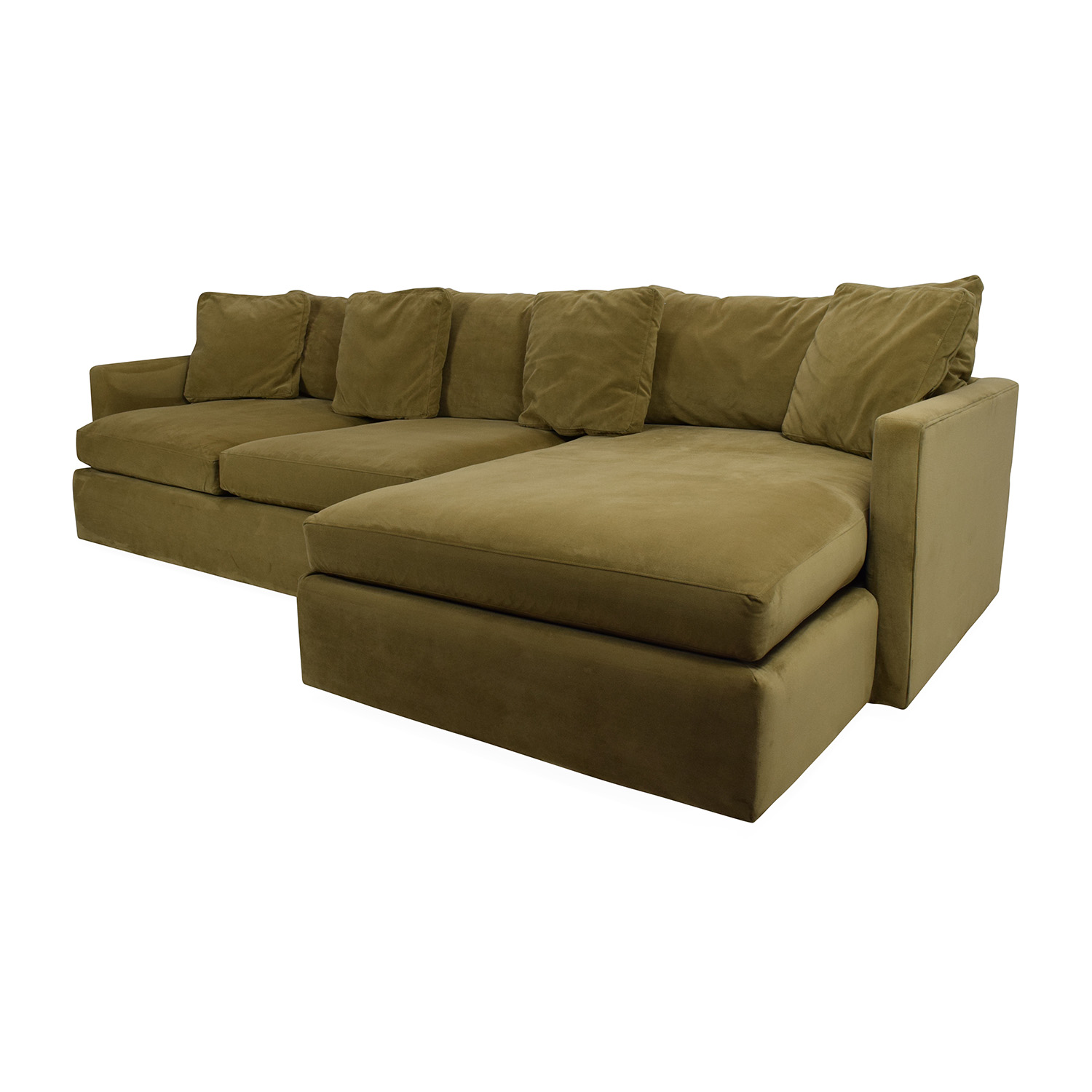 65% OFF Crate and Barrel Crate and Barrel Lounge II Sectional
