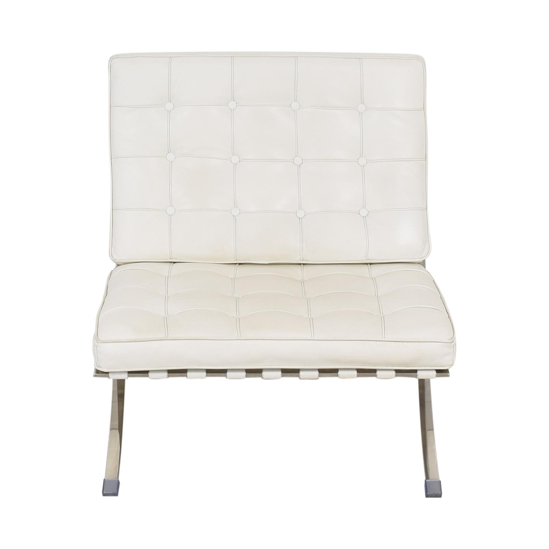 Knoll-Style Barcelona Chair and Ottoman sale