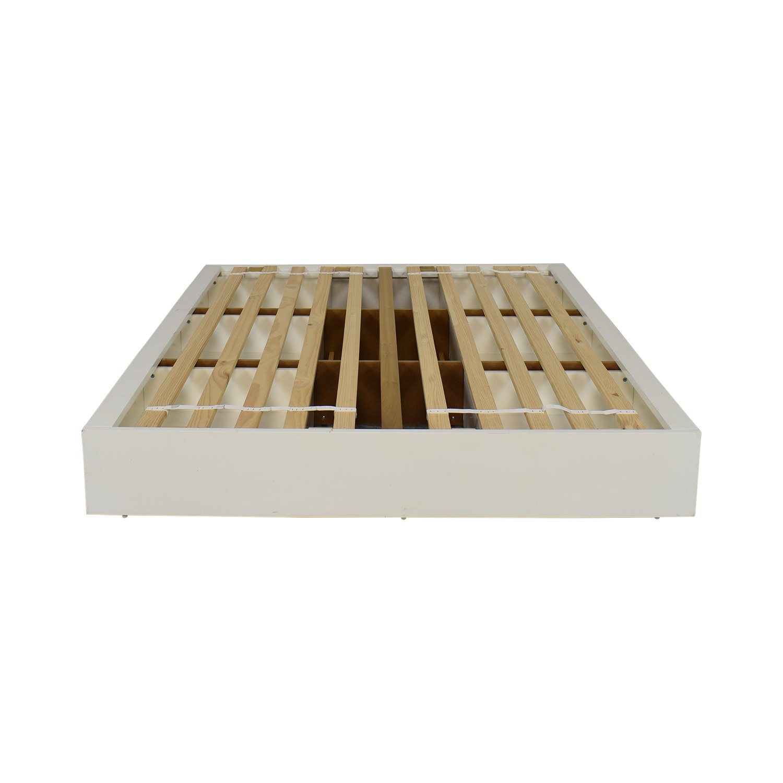 CB2 CB2 Stowaway Queen Storage Platform Bed Beds