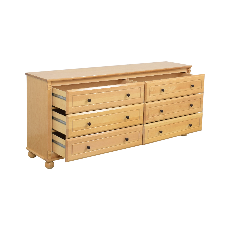 Bellini Bellini Six Drawer Dresser dimensions