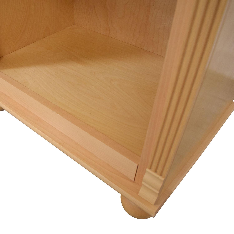 Bellini Bellini Natural Bookcase dimensions