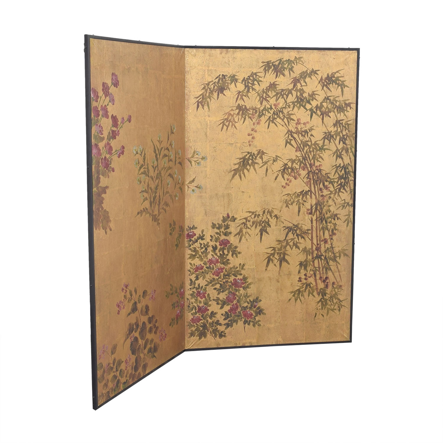 shop Japanese Style Two Panel Room Divider  Dividers