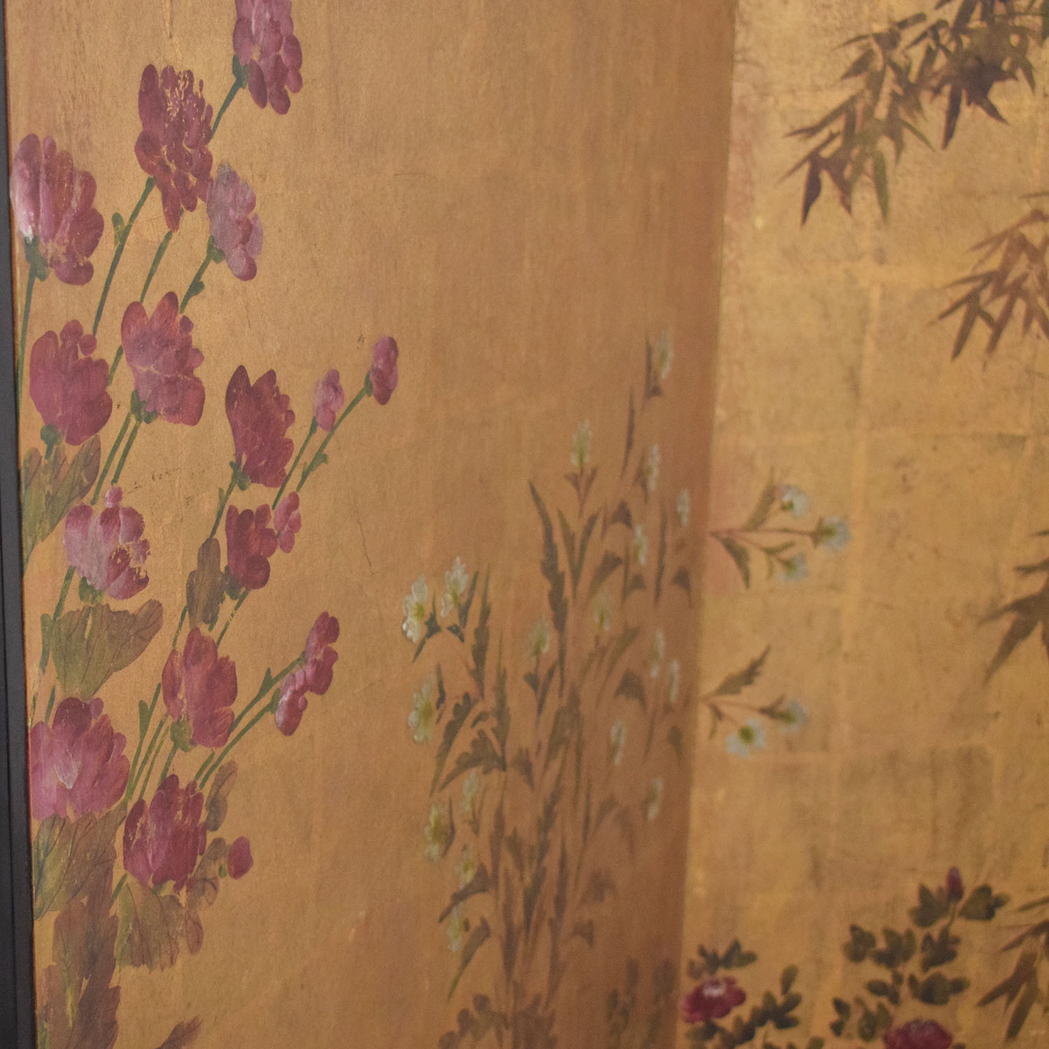Japanese Style Two Panel Room Divider used