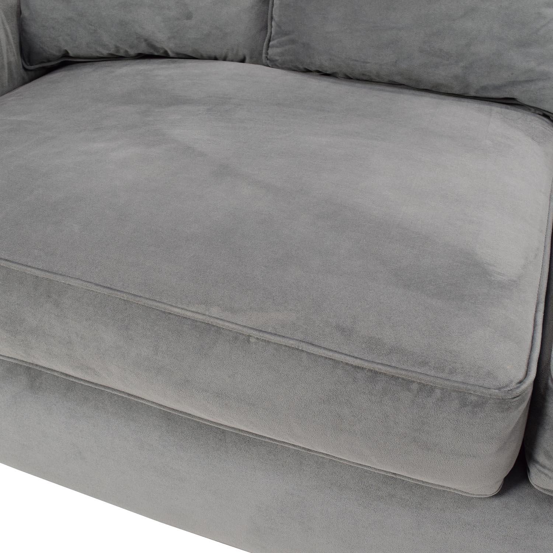 53% OFF Jennifer Convertibles Jennifer Convertibles Plush Sofa