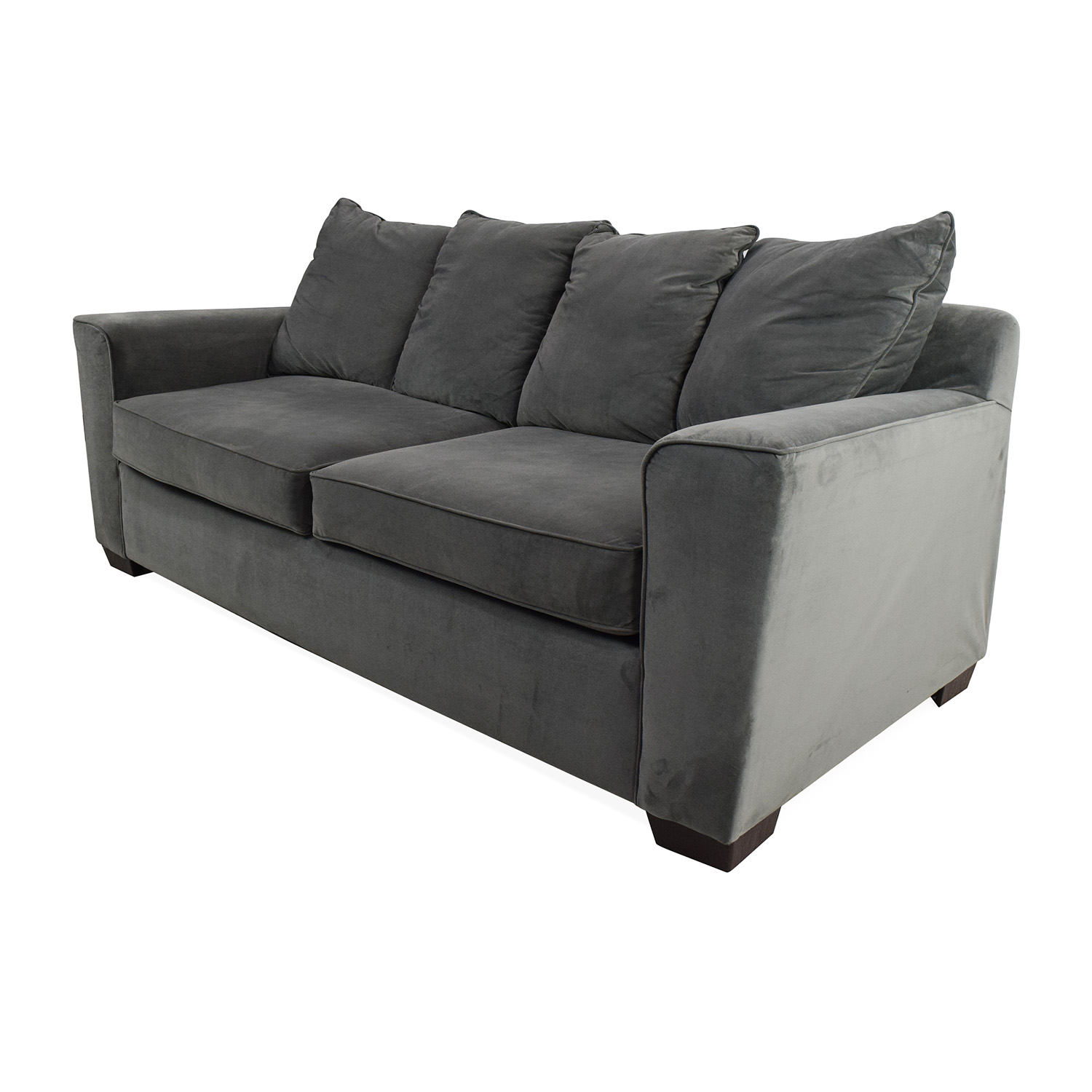 53 Off Jennifer Convertibles Jennifer Convertibles Plush Sofa Sofas