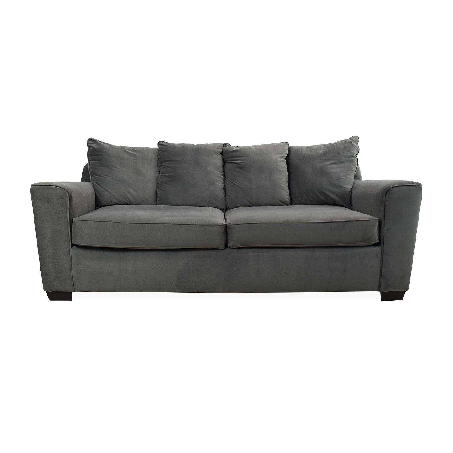 Jennifer Convertibles Plush Sofa / Sofas